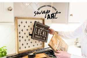 Introducing: Switchable Home Décor Art