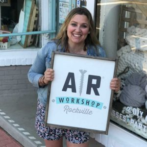 AR Workshop Rockville is Second Location for Owner Adrienne Rupinta